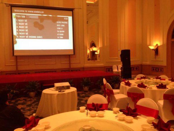 cho thuê chọn bộ karaoke tại khách sạn