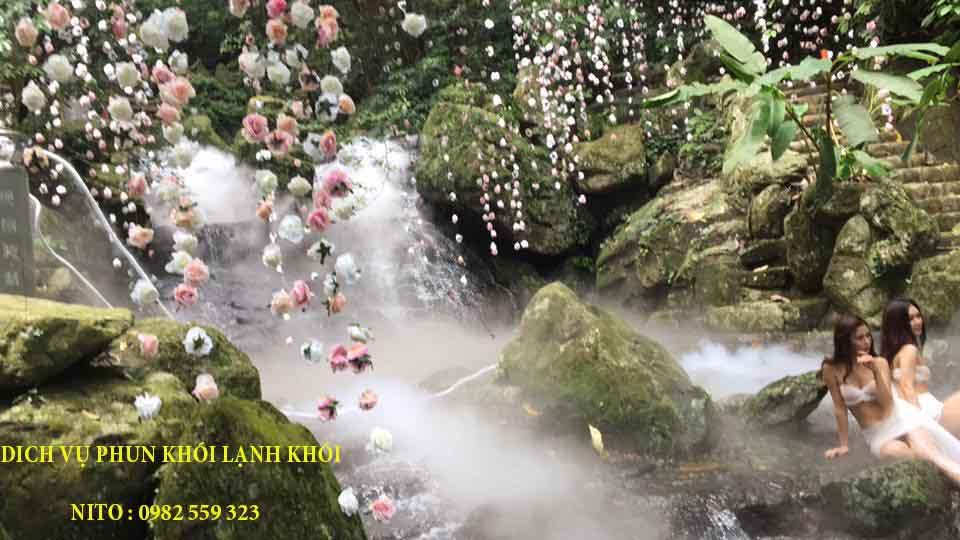 Khói Nito sử dụng cho chụp ảnh cưới tại Núi Ba Vì Hà nội