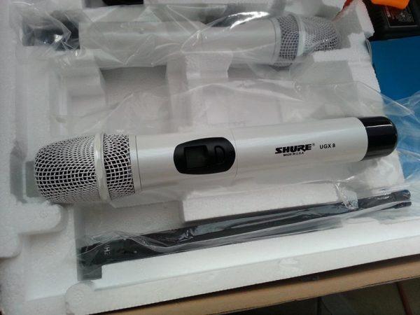 micro không dây karaoke Shure UGX 8II