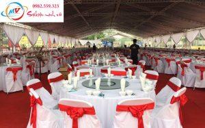 Cho Thuê Bàn Tròn Ghế Xuân Hòa dành cho tiệc liên hoan.