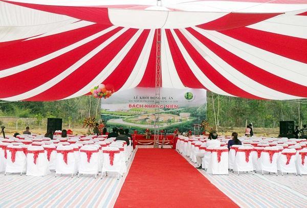 Dịch vụ tổ chức sự kiện đang được sử dụng rộng rãi