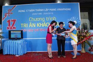 Lễ tri ân khách hàng sử dụng dịch vụ của Vinaphone