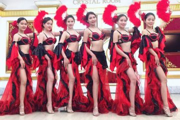 Điệu nhảy trang phục lanmenco Tây Ban Nha