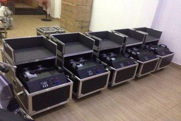 Máy tạo khói là thiết bị quan trọng trong các sự kiện và các buổi biểu diễn lớn