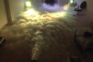 Máy phun khói lạnh góp mặt tạo nên sự thành công cho chương trình, sự kiện