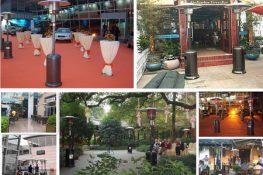 Dịch vụ cho thuê cây sưởi di động uy tín, chất lượng tại Minh Vũ media