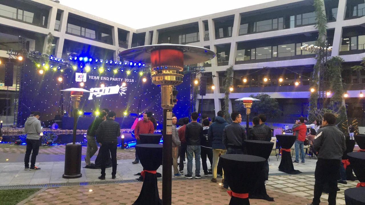 Dịch vụ cho thuê đèn sưởi công nghiệp tại Minh Vũ giá rẻ