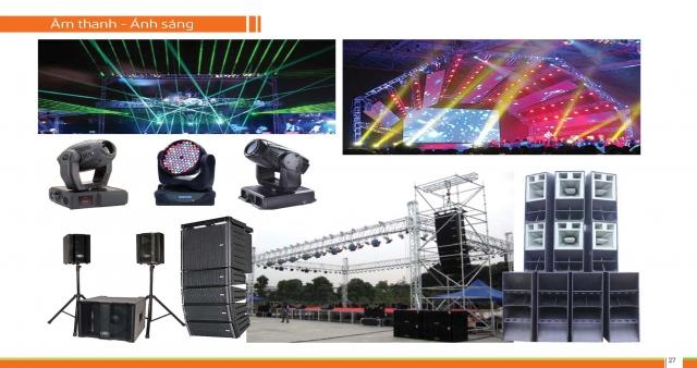 Lựa chọn nơi cho thuê âm thanh ánh sáng sân khấu Bắc Giang chất lượng