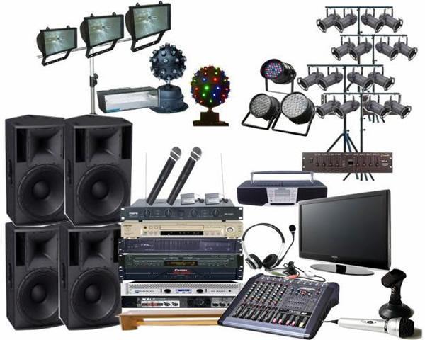 Hệ thống âm thanh ánh sáng chuyên nghiệp