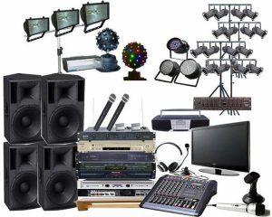 Thuê thiết bị âm thanh, ánh sáng ở đâu chất lượng, giá tốt?