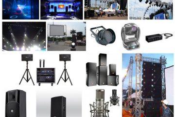 Hệ thống đèn chiếu sáng đa dạng