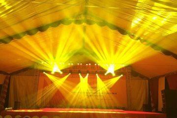 Minh Vũ cho thuê hệ thống âm thanh ánh sáng sân khấu tại Hưng Yên.