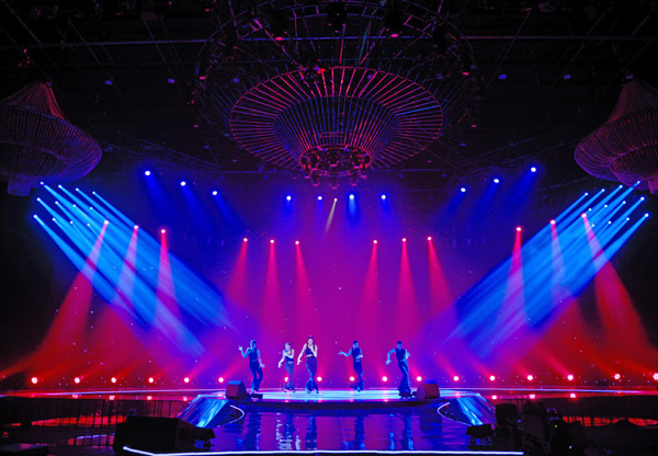 Dịch vụ cho thuê âm thanh ánh sáng chuyên nghiệp của Công ty Minh Vũ