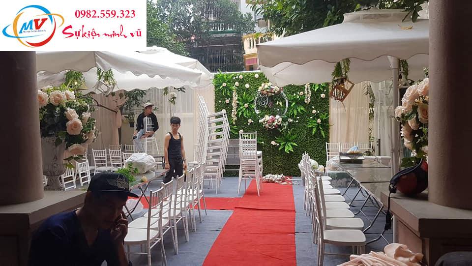 Cho thuê ô lệch tâm  cho đám cưới sang trọng mà tiết kiệm