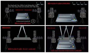 Báo giá các gói cơ bản tiết kiệm âm thanh ánh sáng tổ chức trung thu 2020